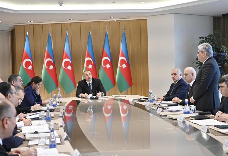 При Президенте Ильхаме Алиеве прошло совещание, посвященное итогам 2019 года