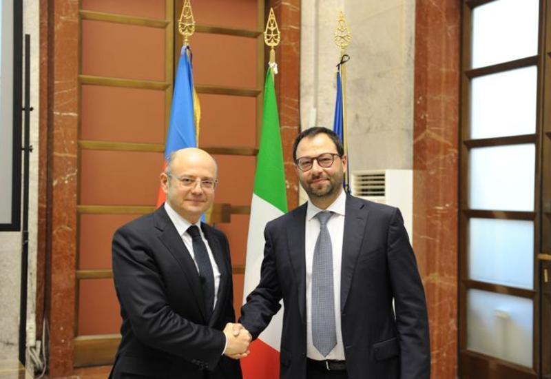 Азербайджан призвал итальянские компании к сотрудничеству в различных сферах экономики
