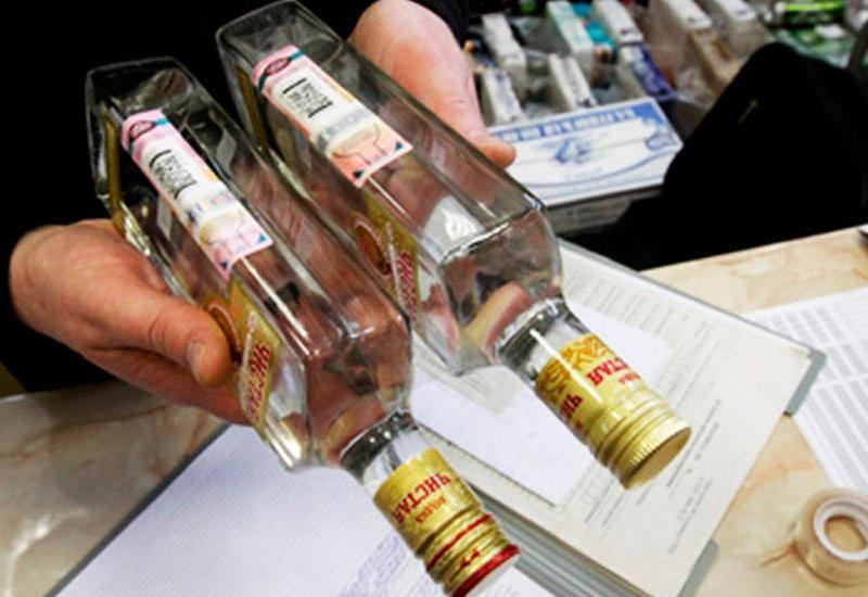 В Азербайджане арестованы лица, реализовавшие поддельные спиртные напитки