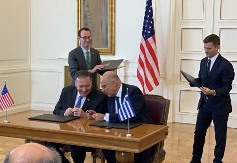 Компартия Греции призвала аннулировать оборонное соглашение с США
