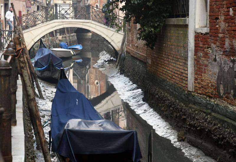 Двухмесячные рекордные наводнения в Венеции