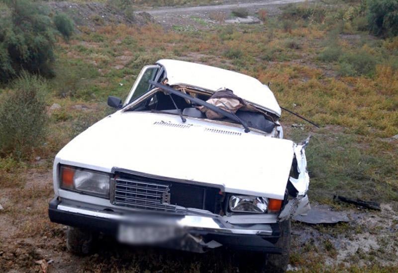 Ağır qəza - 1 nəfər öldü, 3-ü yaralandı