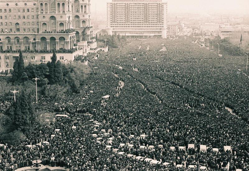 Случившееся 20 января 1990 года - чудовищная провокация против азербайджанского народа