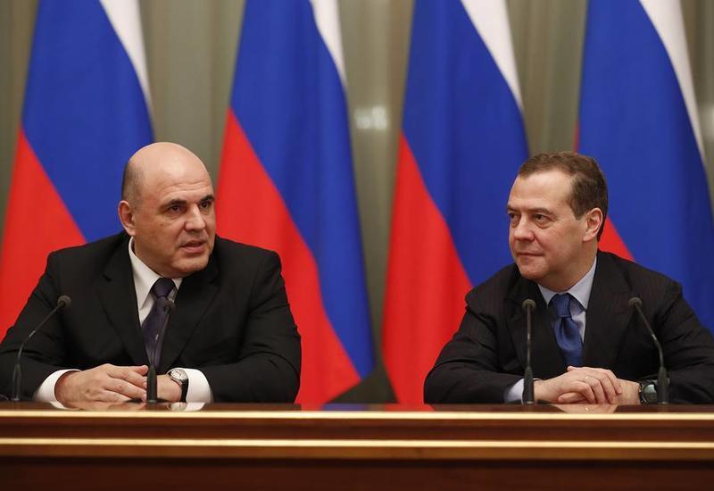 Медведев и Мишустин провели встречу с членами правительства