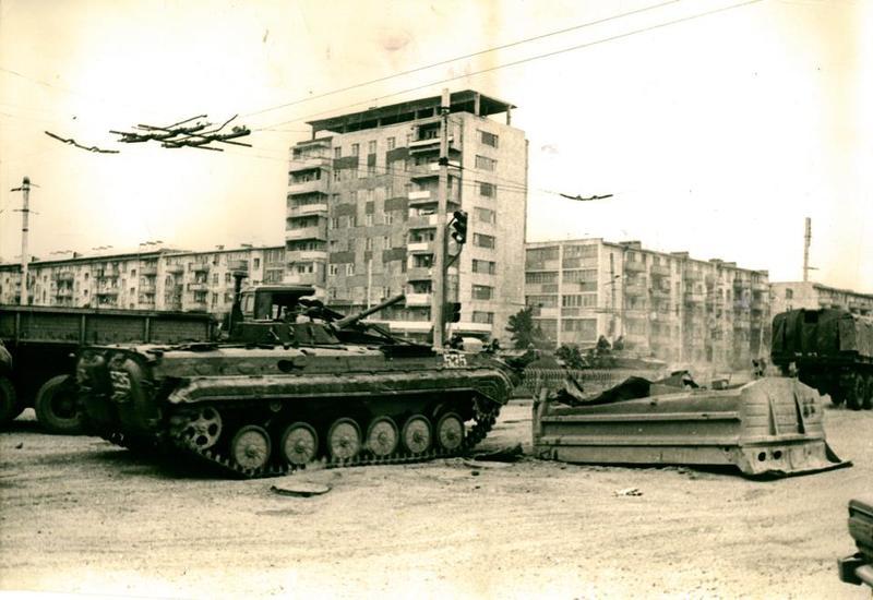Ввод войск в Баку - месть продавшегося армянам Горбачева азербайджанскому народу