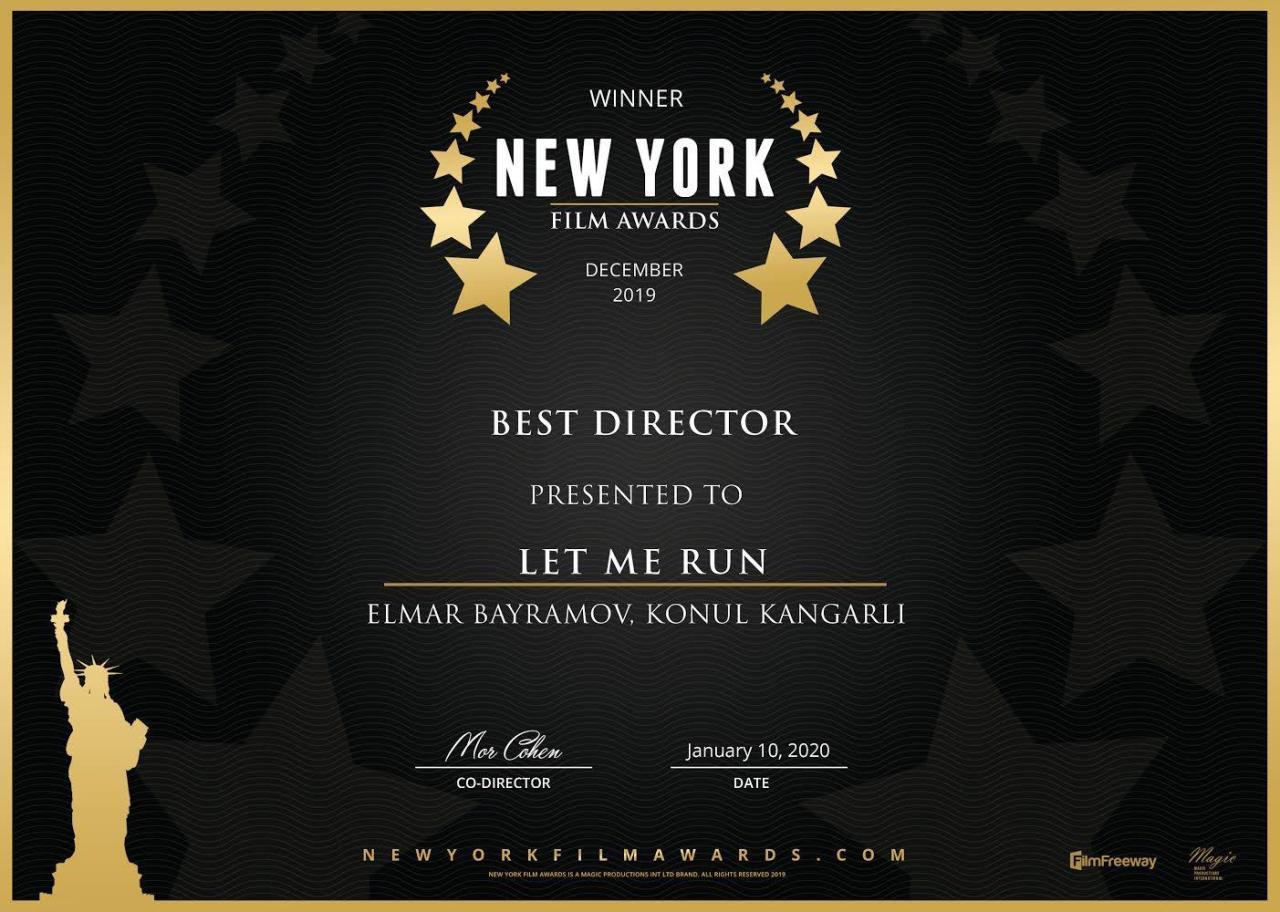 Фильм азербайджанского режиссера признан лучшим на фестивале в Голливуде
