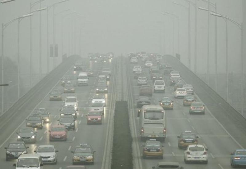 Уровень загрязнения воздуха в Пекине в 14 раз превысил норму