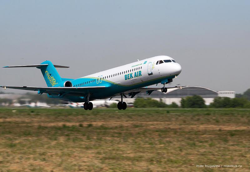 Международная ассоциация воздушного транспорта отозвала код обозначения Bek Air