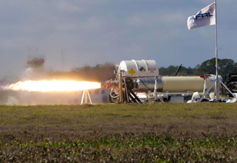 США испытали двигатель гиперзвуковой ракеты