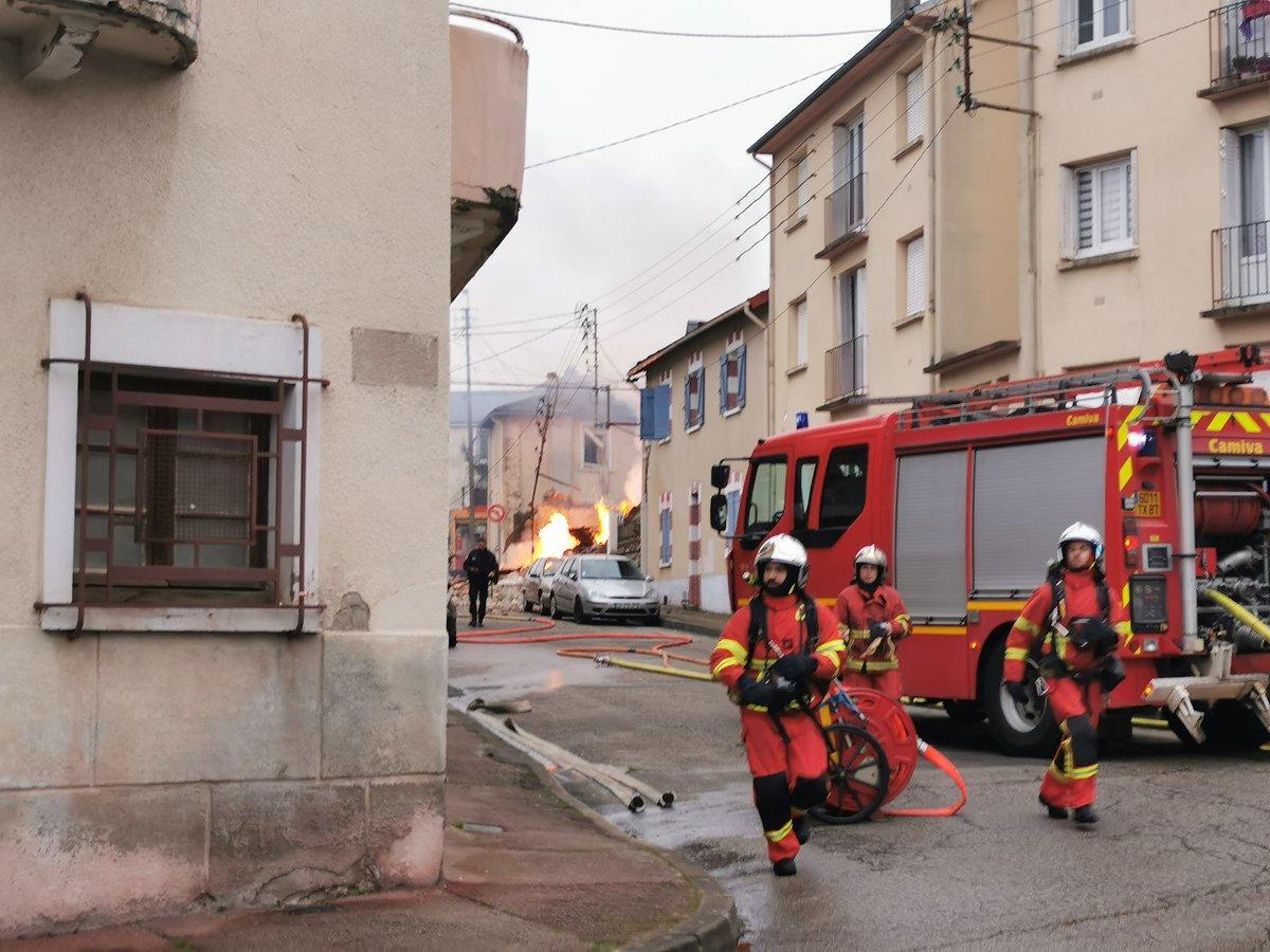 Сильный взрыв во Франции, есть пострадавшие