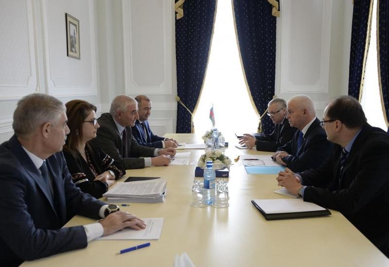 Мазахир Панахов встретился с делегацией наблюдательной миссии СНГ