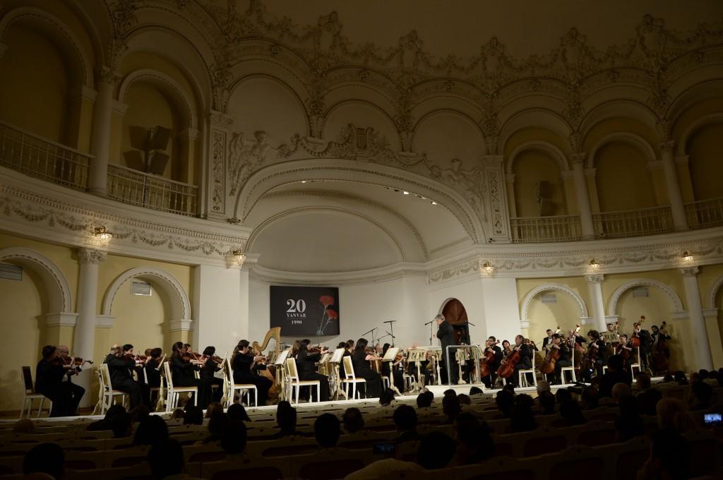 В Баку прошел вечер классической музыки в память о жертвах 20 Января