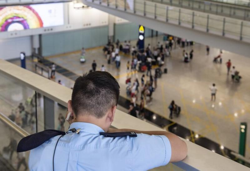 Аэропорт Гонконга переживает рекордный спад