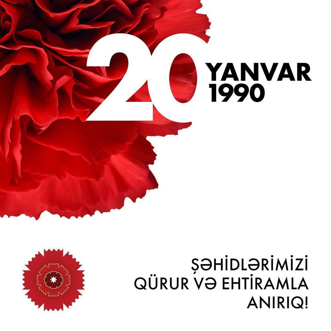 Первый вице-президент Мехрибан Алиева: 20 января 1990 года вошло в историю Азербайджана как один из самых трагических дней
