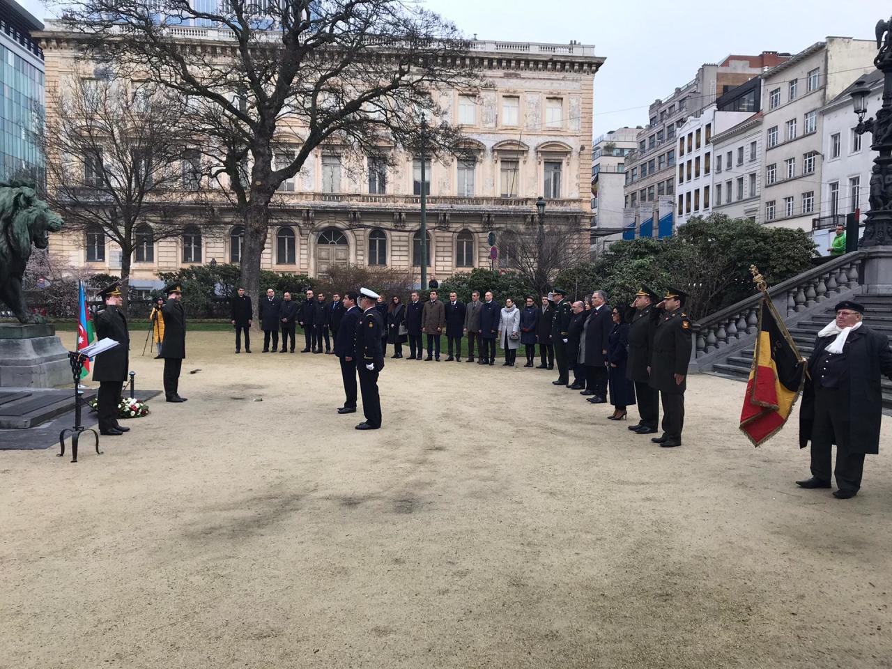 В Брюсселе прошла торжественная памятная церемония в связи с трагедией 20 Января