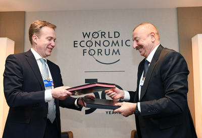 В Азербайджане откроется региональный центр Всемирного экономического форума  - ФОТО