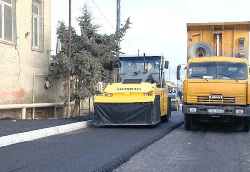 В Баку строится новая дорога