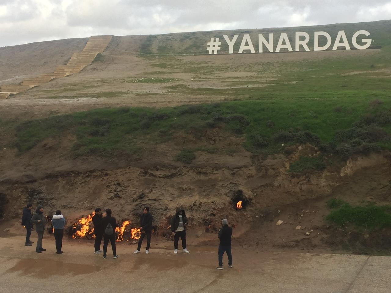 Yanardağ - Azərbaycanın odlu möcüzəsi