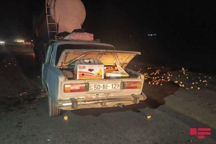 Тяжелое ДТП в Геранбое, есть пострадавший