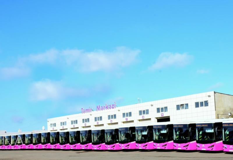 На улицах Баку появятся новые 12-метровые автобусы