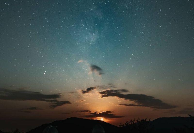 Космическое небо Шамахи