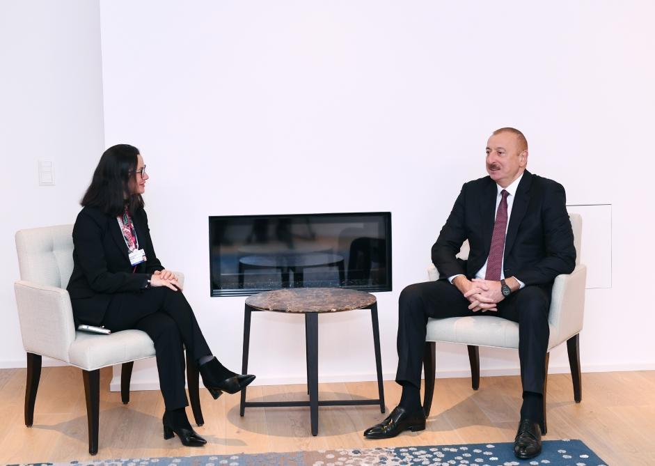 Обсуждены вопросы сотрудничества с компанией Swiss Re для дальнейшего развития страхового рынка в Азербайджане
