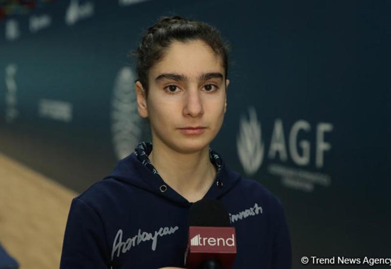Азербайджанская гимнастка: Все свои силы я направлю на Кубок мира в Баку