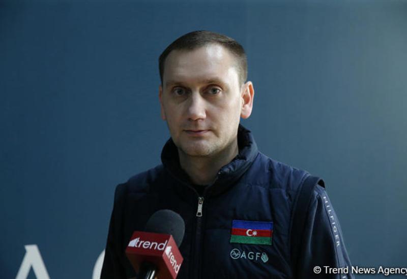 Главный тренер сборной Азербайджана по прыжкам на батуте рассказал о целях команды на Кубке мира в Баку