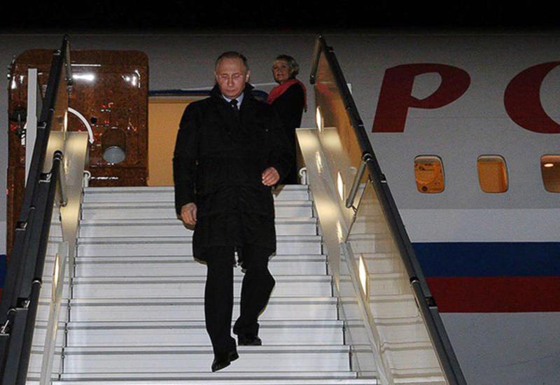 Владимир Путин прибыл в Вифлеем на встречу с лидером Палестины