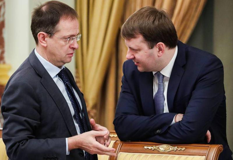 Владимир Путин назначил Мединского и Орешкина помощниками президента