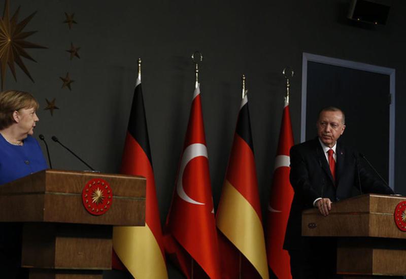 Меркель и Эрдоган сделали заявления по Ливии и Сирии