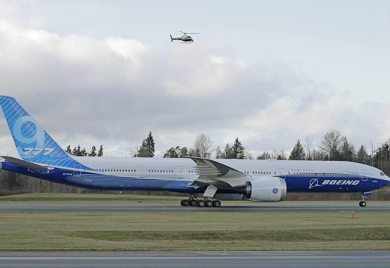 Boeing 777X начал первый испытательный полет