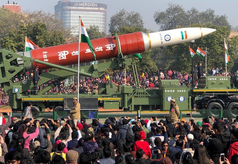 Индийское противоспутниковое оружие впервые показали на параде в Нью-Дели