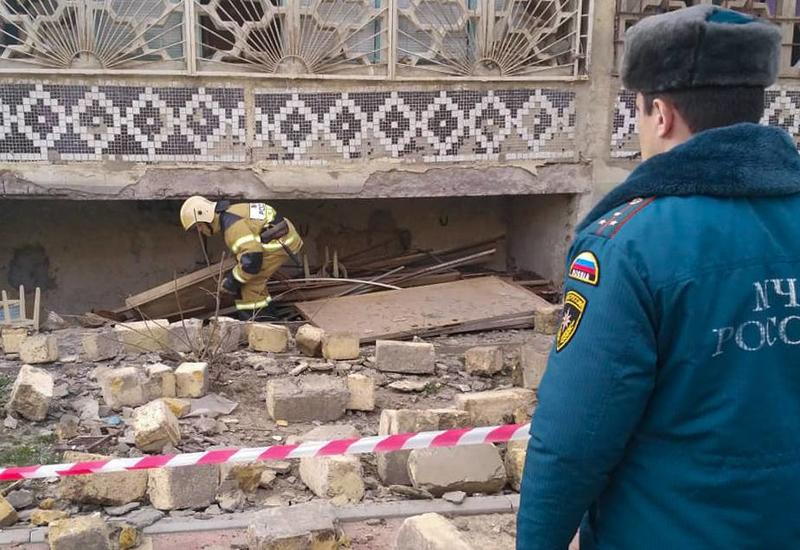 В жилом доме в Махачкале произошел взрыв газа, есть пострадавшие