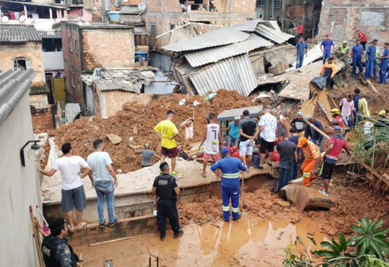 Число погибших из-за ливней  в Бразилии достигло 47