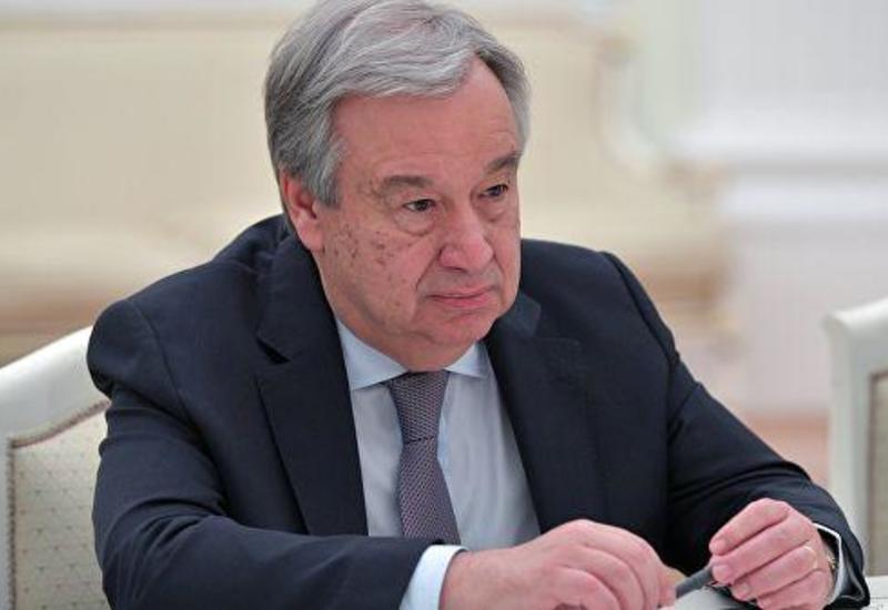 Генсек ООН выразил соболезнования правительству Турции в связи с землетрясением