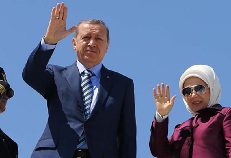 Эрдоган отправился с визитом в Алжир