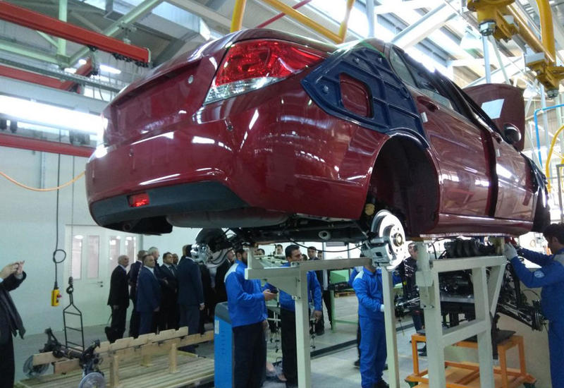 В Азербайджане растет объем производства автомобилей