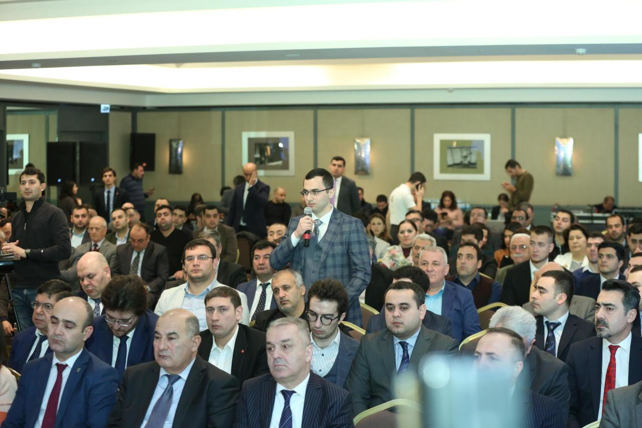 Общественный совет при Агентстве по развитию МСБ Азербайджана обсудил вопросы пищевого бизнеса