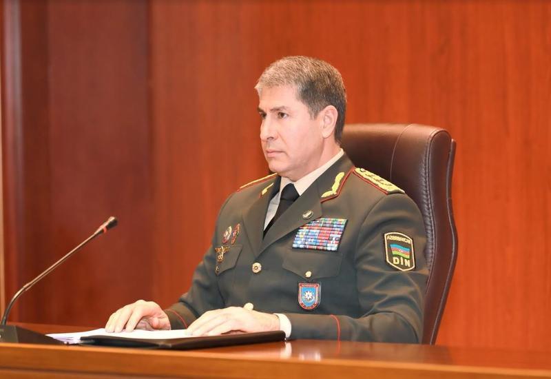 Вилаят Эйвазов отправил в распоряжение полковника