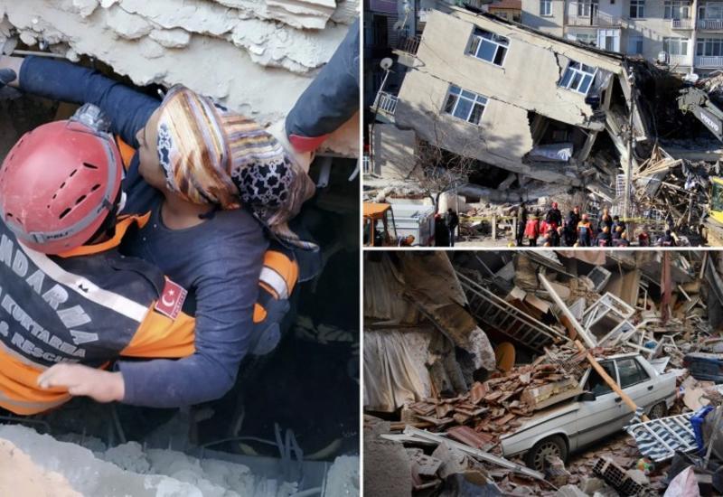 Последствия разрушительного землетрясения в Турции