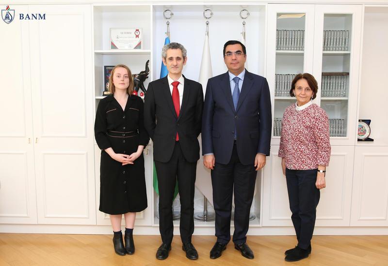 Новый посол Франции посетил БВШН