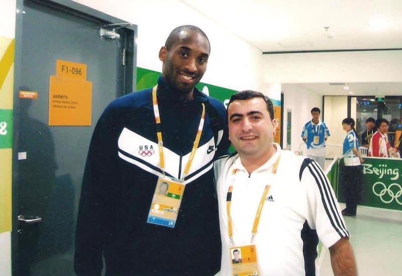 Азербайджанский спортивный журналист поделился воспоминаниями о Коби Брайанте