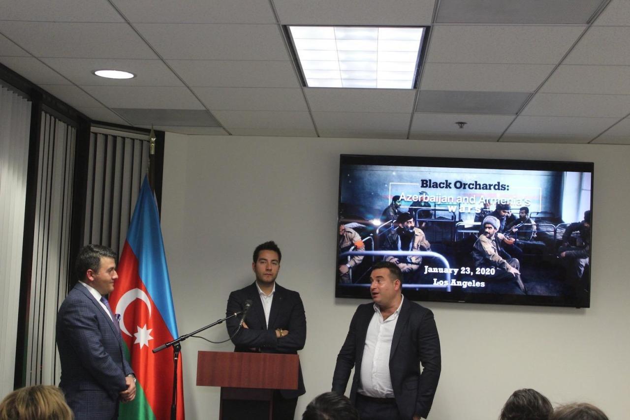 В Лос-Анджелесе показан документальный фильм, разоблачающий армянскую агрессию