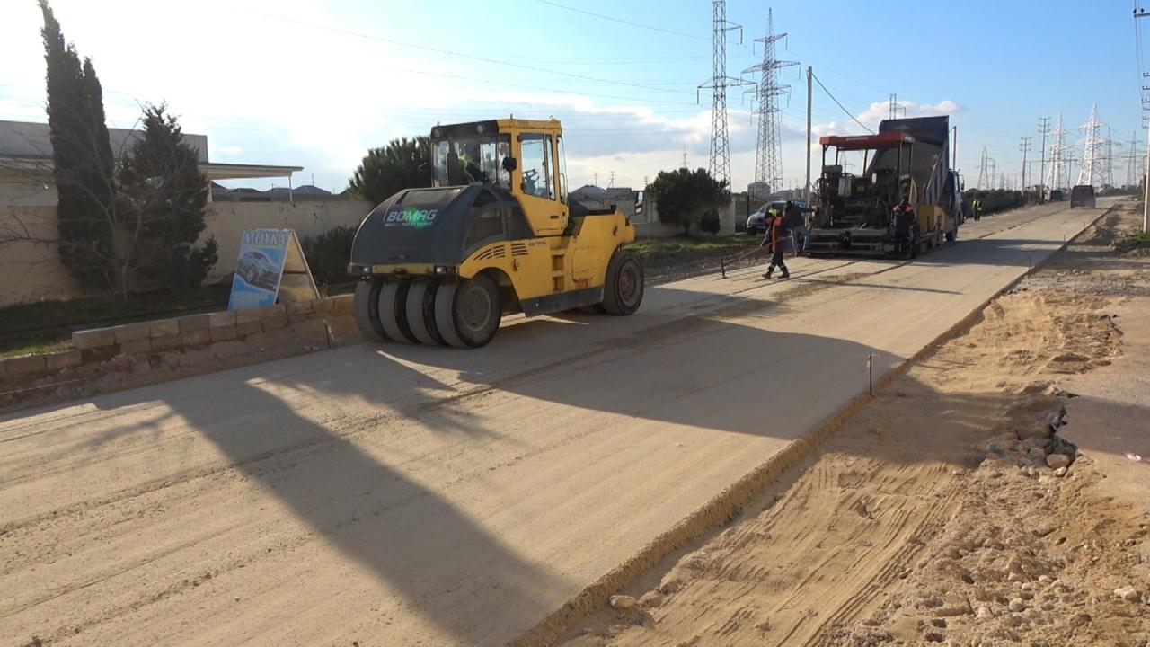В минувшем году были заасфальтированы дороги в ряде бакинских поселков