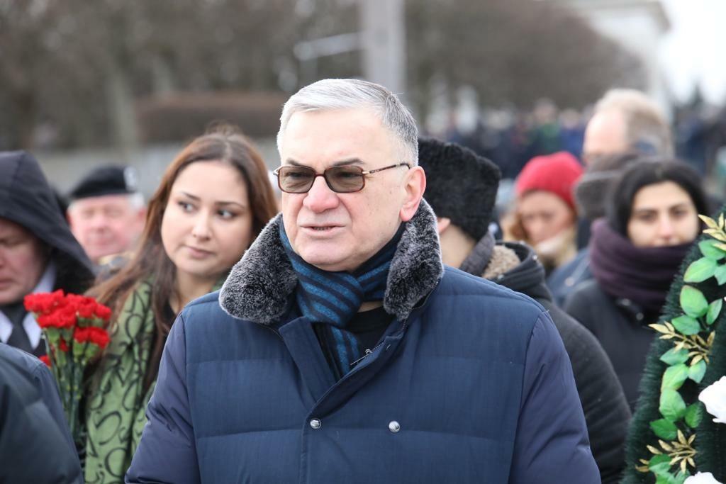 Азербайджанская делегация приняла участие в мероприятиях в честь 76-летия освобождения Ленинграда от блокады