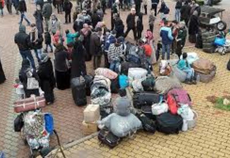Турция сооружает лагерь для беженцев из Идлиба