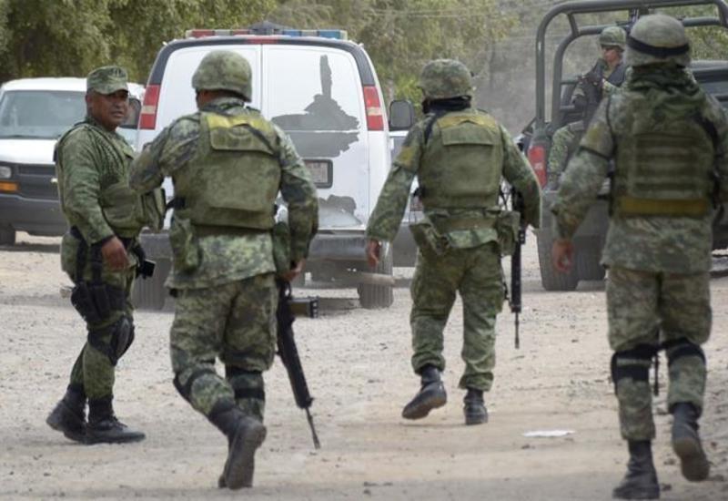 В Мексике наркоторговцы скрылись с грузом после перестрелки с военными