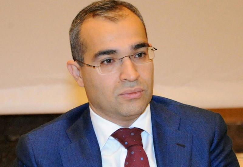 Микаил Джаббаров на переговорах с послом Польши