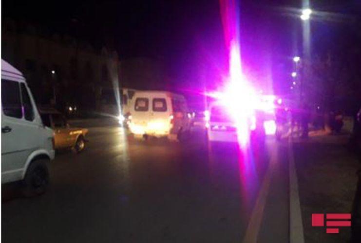 В Гяндже произошел пожар в здании института
